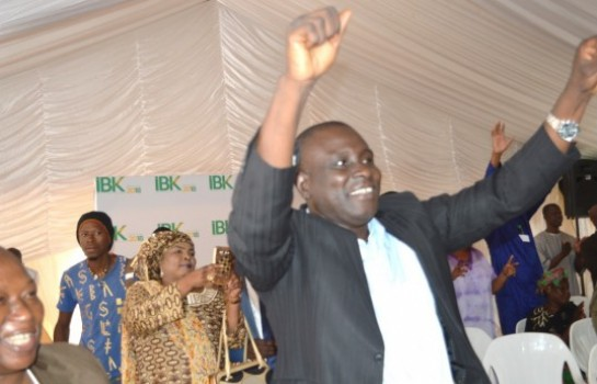 Les partisans de IBK heureux après la réélection de