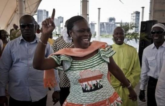 Simone Gbagbo libre et au domicile de Michel Gbagbo