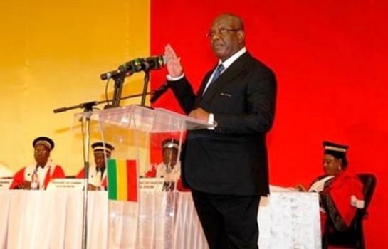 Ibrahim Boubacar Keïta prête serment