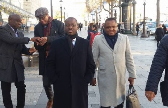 Guillaume Soro en visite privée à Paris