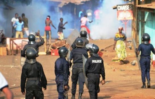 Violentes manifestations de l'opposition en Guinée