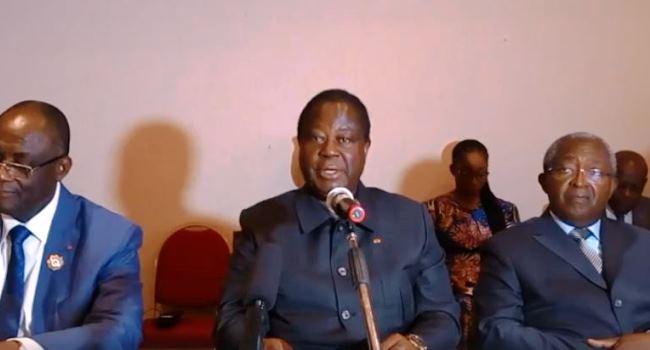 Henri Konan Bédié en phase avec les élus PDCI