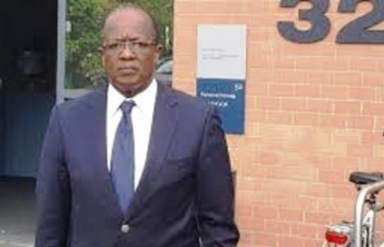 Armand Ouegnin en visite à LAurent Gbagbo à La Haye