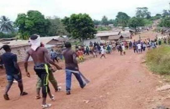 Violents affrontement à Zouan-Hounien