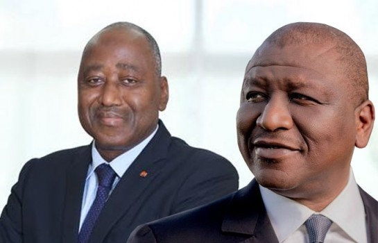 Amadou gon Coulibaly et Hamed Bakayoko Hamback, quel RHDP pour 2020