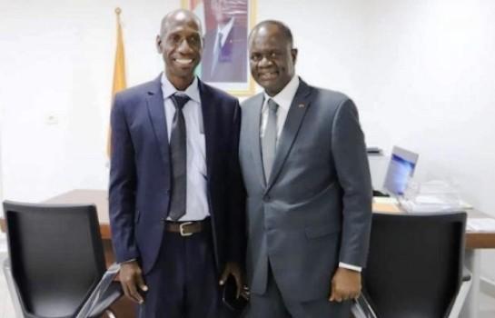 Kouakou Amalaman Jean Baptiste et Amadou Soumahoro
