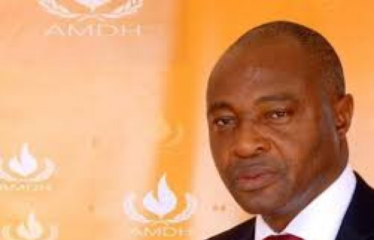 Moctar Maroko, président de l'association malienne des droits de l'homme (AMDH)