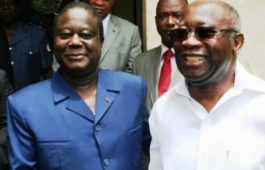L'impossible alliance entre Laurent Gbagbo et Konan Bédié ?