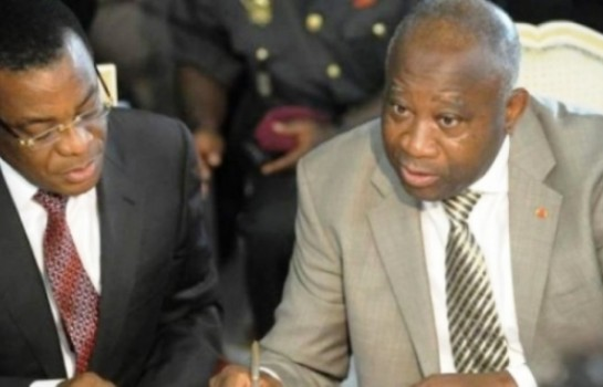 Laurent Gbagbo et Pascal Affi N'Guessan