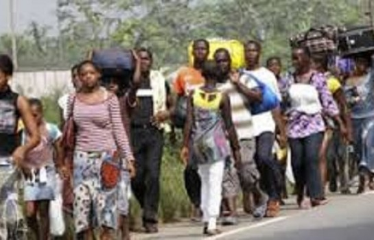De nombreux déplacés dans les régions anglophones du Cameroun