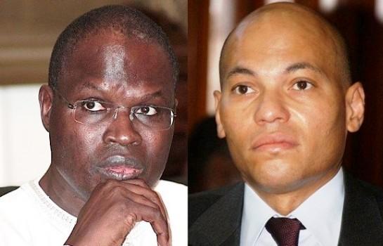 Karim Wade et Khalifa Sall, de sérieux outsiders de Macky Sall