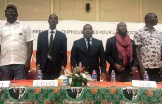 Charles Gnahoré mobilise pour le congrès du RHDP