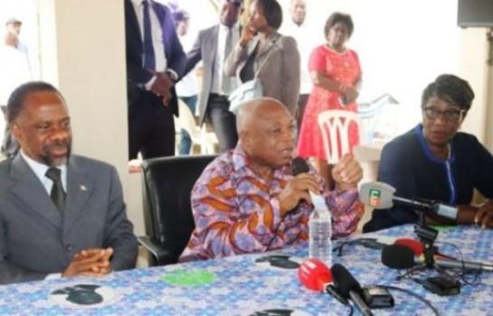 Dr Assoa Adou livre le message de Laurent Gbagbo au militants du FPI