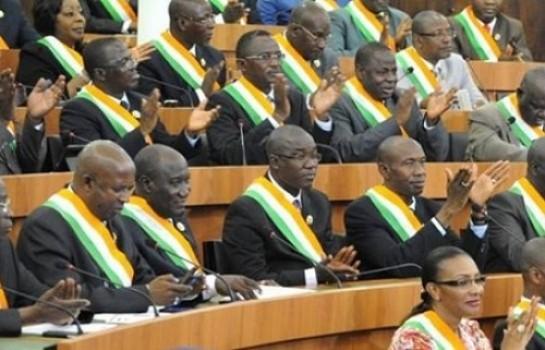Les collègues du député Jacques Ehouo