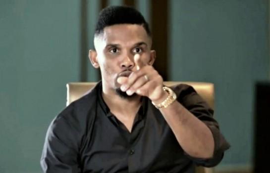 Samuel Eto'o Fils propose sa recette contre le racisme