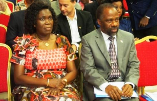 Simone Gbagbo et Sébastien Dano Djédjé