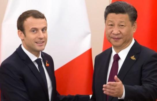 Coopération sino-française, Xi Jinping et Macron se félicitent mutuellement