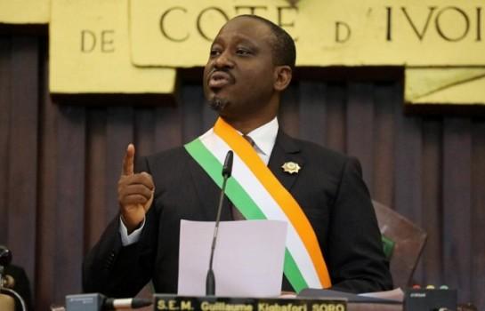 Guillaume Soro démissionne de la présidence de l'Assemblée nationale