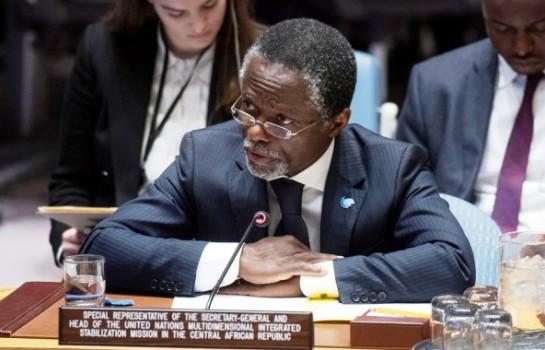 Parfait Onanga-Anyanga, représentant du CG de l'ONU en Centrafrique