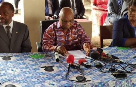 Assoa Adou, secrétaire général du FPI