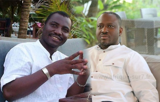 Doumbia Major et Guillaume Soro, politiciens ivoiriens