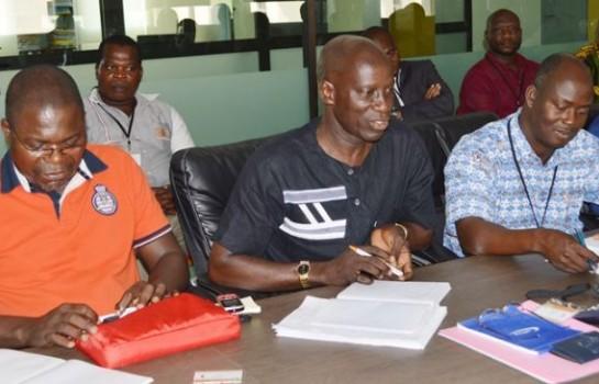 Johnson Kouassi, secrétaire général de la Cnec