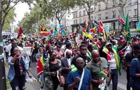 MArche de la diaspora africaine à Paris