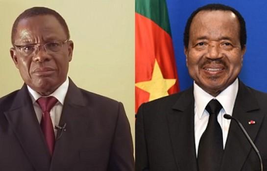 Maurice Kamto et Paul Biya
