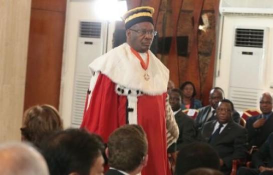 Le professeur Franklin Nyamsi interpelle le Magistrat hors classe Koné Mamadou, président du  conseil constitutionnel en vue de dissuader le président de la république de rempiler pour un troisième mandat