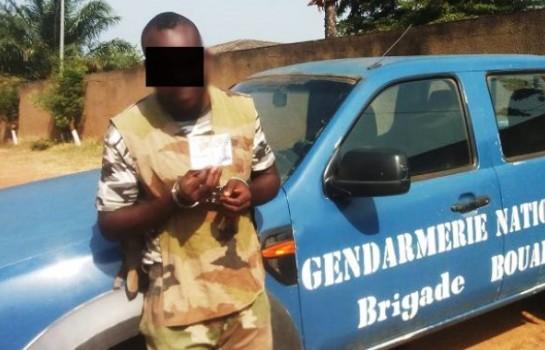 Un faux militaire arrêté à Abobo avec des équipement militaires