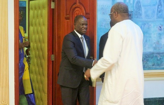 Amadou Soumahoro en visite au Kosyam, une anguille sous roche ?