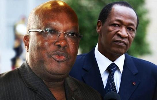 Blaise Compaoré a souhaité aider le régime actuel