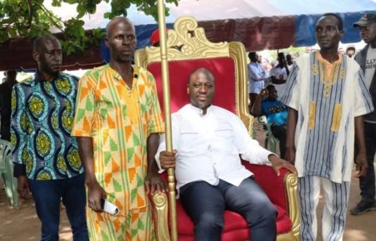 Les populations de Dabakala donne le fauteuil à Guillaume Soro