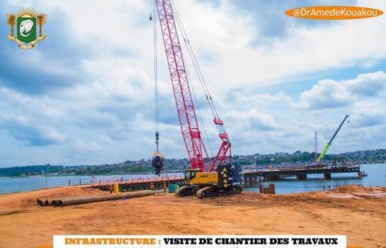 Le 4e pont d'Abidjan avance bien selon le ministre