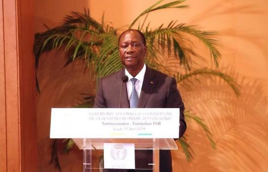 Le Sénat a été instauré par le président Alassane Ouattara