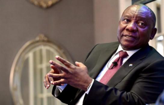 Cyril Ramaphosa élu président