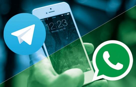 Après une grosse défaillance technique Telegram accuse WhatsApp d'espionnage