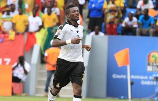 Asamoah Gyan de retour avec les Black Stars