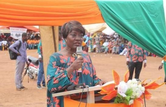 Mariétou Koné a invité les politiciens ivoiriens à mettre balle à terre