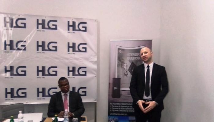 HLG,  leader mondial de l'immigration d'affaire, se signale à Abidjan