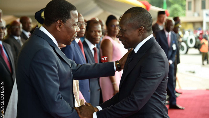 Bénin: Yayi Boni et Patrice Talon comme Ouattara et Gbagbo à Abidjan