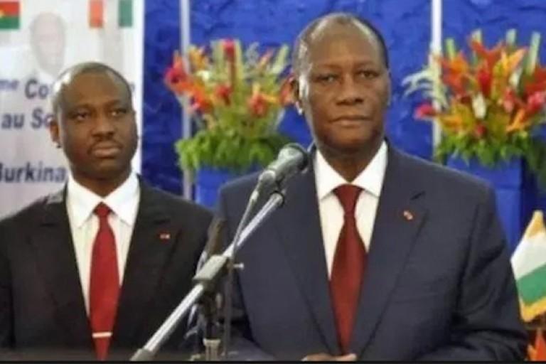 Alassane Ouattara a averti Soro Guillaume