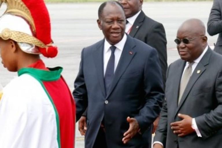 Akufo-Addo et Ouattara pas d'accord sur le cas des exilés pro-Gbagbo
