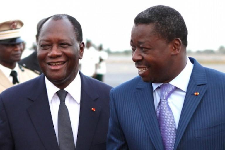 Faure Gnassingbé à l'école d' Alassane Ouattara