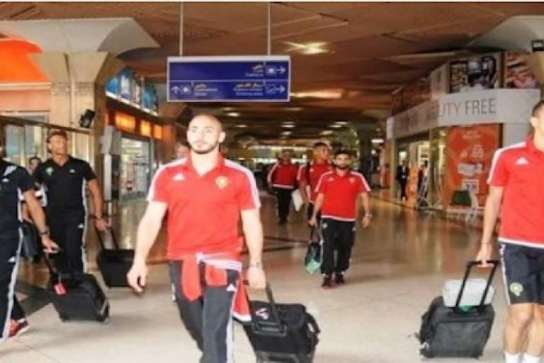 Hervé Renard et les Lions de l'Atlas en route pour Abidjan