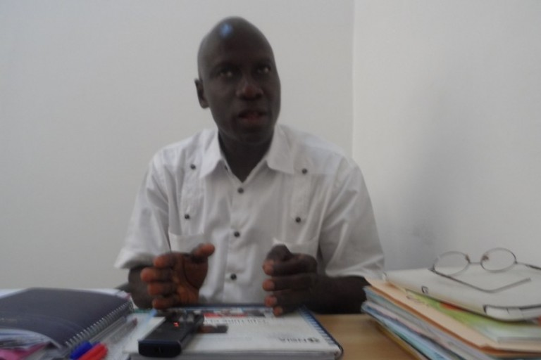 Johnson Kouassi de l' Université de Cocody