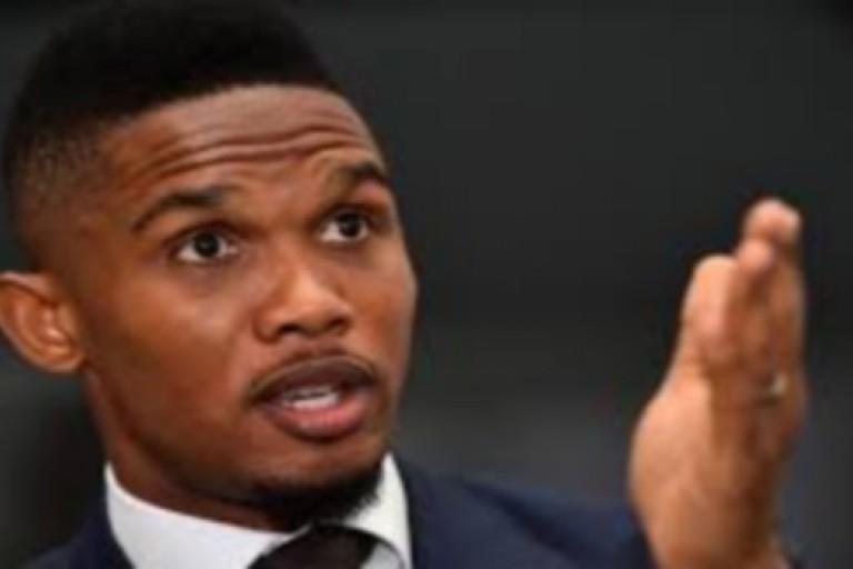 Samuel Eto'o n'a offert aucune somme d'argent aux migrants