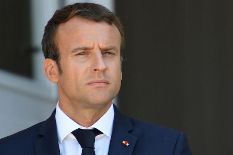 Emmanuel Macron président de la France
