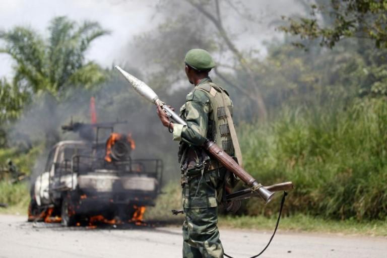 9 soldats tués dans des embuscades au Congo