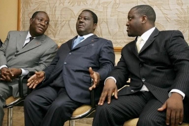 Les élections locales, un test pour Ouattara, Bédié et Soro